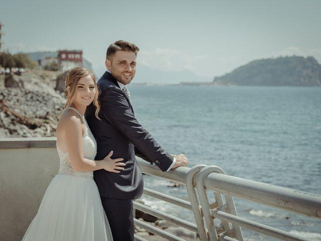 Il matrimonio di Miriam e Agostino a Pozzuoli, Napoli 98