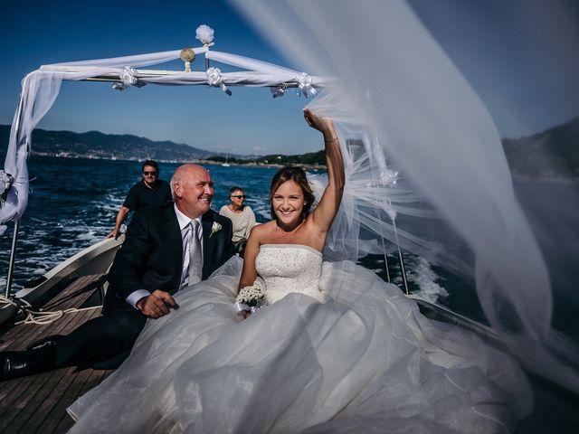Il matrimonio di Ilaria e Andrea a Lerici, La Spezia 53