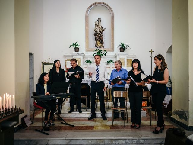 Il matrimonio di Ilaria e Andrea a Lerici, La Spezia 93