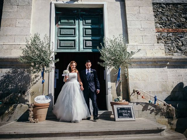 Il matrimonio di Ilaria e Andrea a Lerici, La Spezia 97