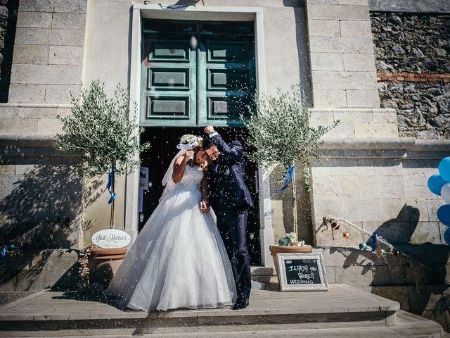 Il matrimonio di Ilaria e Andrea a Lerici, La Spezia 98