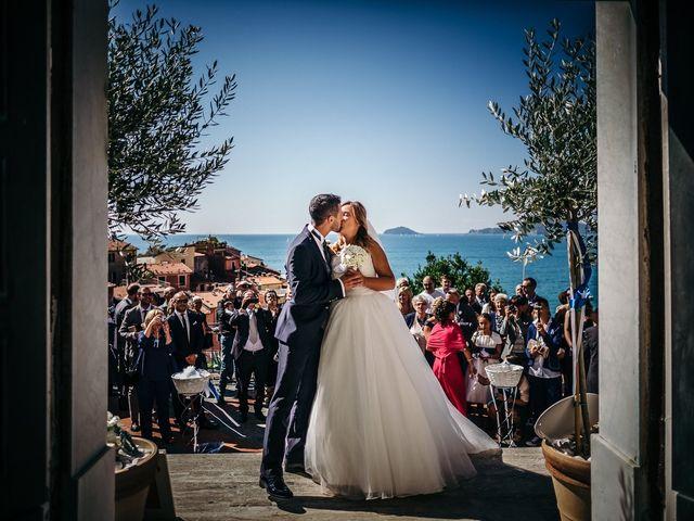 Il matrimonio di Ilaria e Andrea a Lerici, La Spezia 100