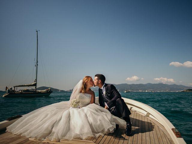 Il matrimonio di Ilaria e Andrea a Lerici, La Spezia 109