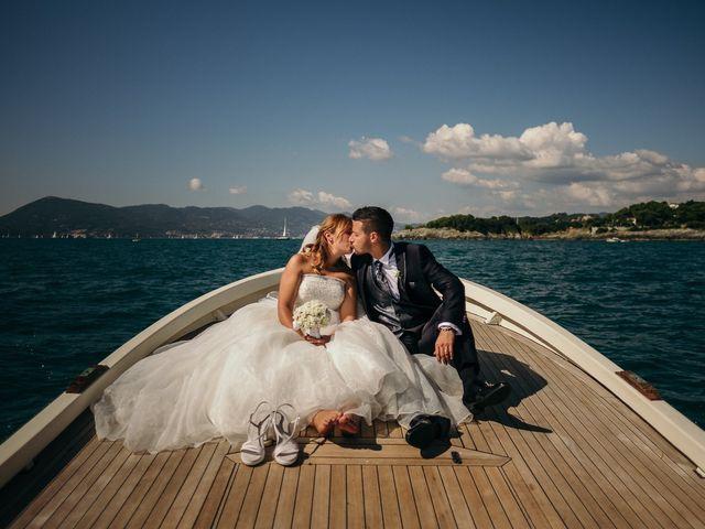 Il matrimonio di Ilaria e Andrea a Lerici, La Spezia 110