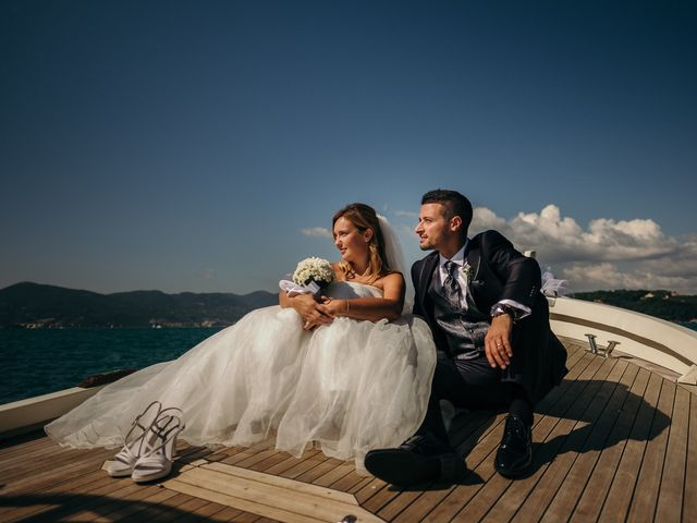 Il matrimonio di Ilaria e Andrea a Lerici, La Spezia 111