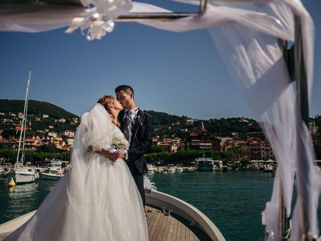 Il matrimonio di Ilaria e Andrea a Lerici, La Spezia 112