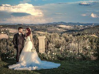 Le nozze di Vanessa e Alberto