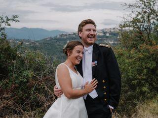 Le nozze di Malene e Tommy