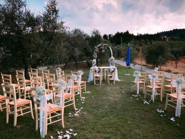 Il matrimonio di Andrea e Elisabetta a Carmignano, Prato 7