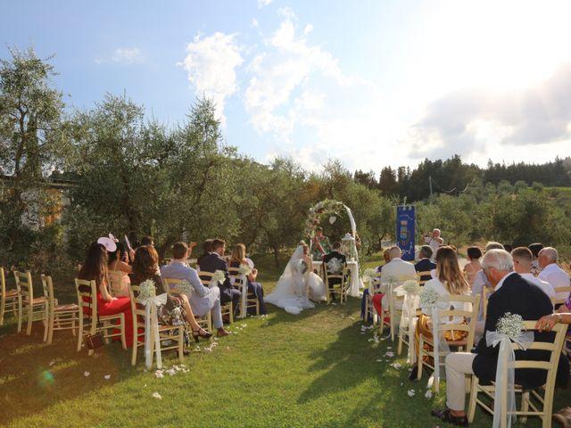 Il matrimonio di Andrea e Elisabetta a Carmignano, Prato 1