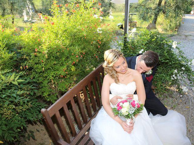 Il matrimonio di Andrea e Elisabetta a Carmignano, Prato 17