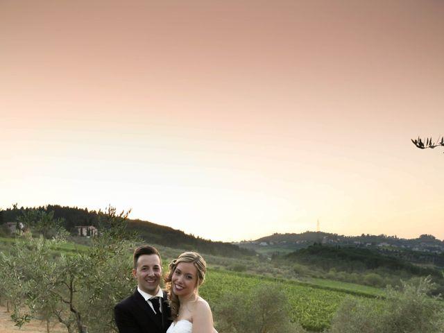 Il matrimonio di Andrea e Elisabetta a Carmignano, Prato 25