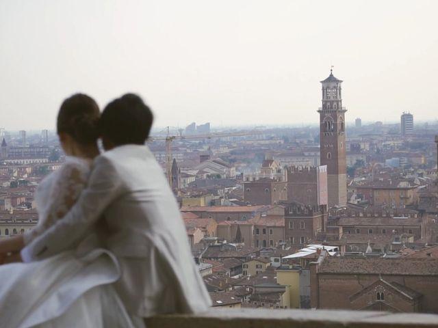 Il matrimonio di Daiki e Erika a Verona, Verona 3