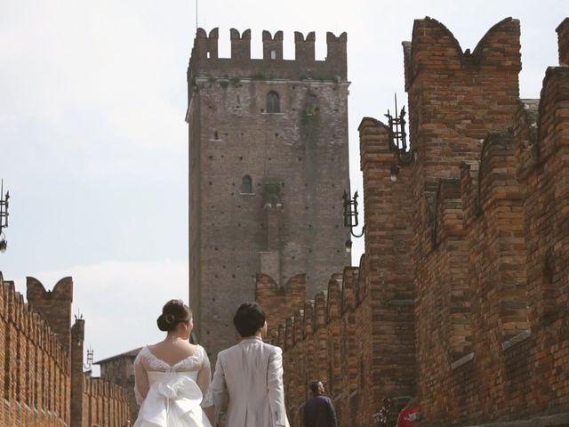 Il matrimonio di Daiki e Erika a Verona, Verona 23