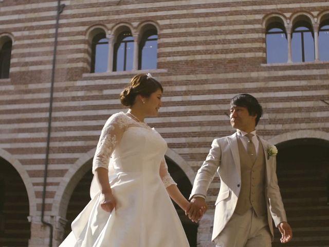Il matrimonio di Daiki e Erika a Verona, Verona 25