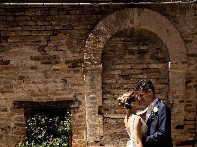 Il matrimonio di Matteo  e Milena  a Montecosaro, Macerata 8