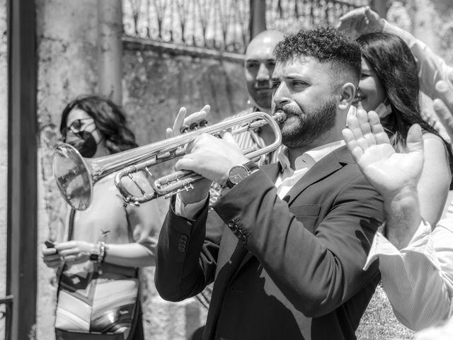 Il matrimonio di Cosimo e Anna a Eboli, Salerno 35