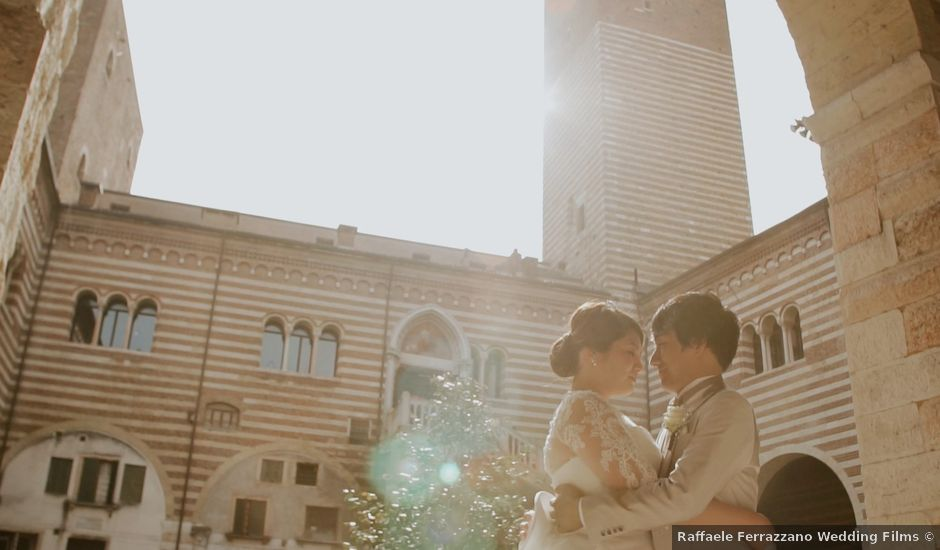 Il matrimonio di Daiki e Erika a Verona, Verona