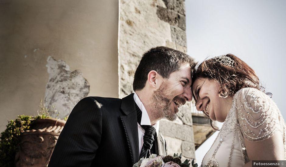 Il matrimonio di Azzurra e Simone a Anguillara Sabazia, Roma