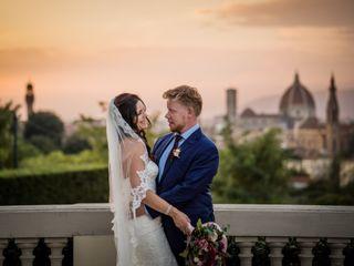 Le nozze di Tonya e Mason