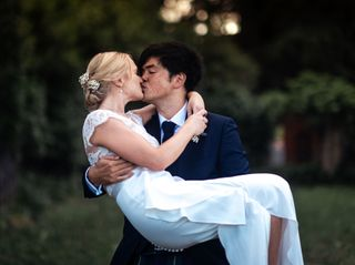 Le nozze di Sarah e Michael
