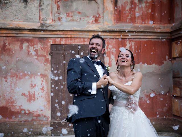 le nozze di Monica e Alain
