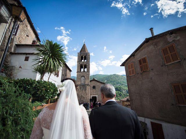 Il matrimonio di Paolo e Beatrice a Subiaco, Roma 19