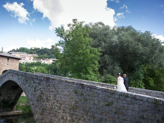 Il matrimonio di Paolo e Beatrice a Subiaco, Roma 34