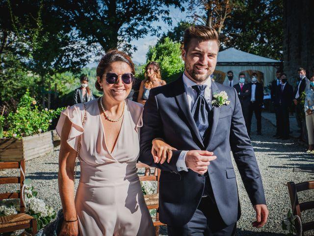 Il matrimonio di Federica e Simone a Trisobbio, Alessandria 16