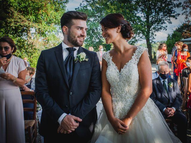 Il matrimonio di Federica e Simone a Trisobbio, Alessandria 24