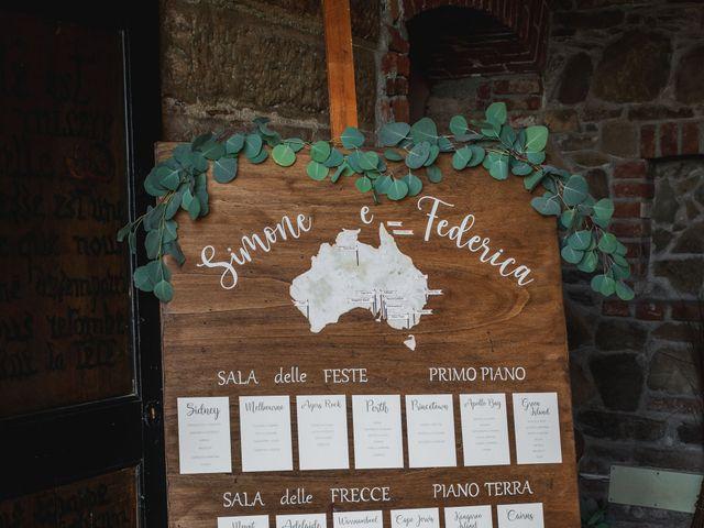 Il matrimonio di Federica e Simone a Trisobbio, Alessandria 48