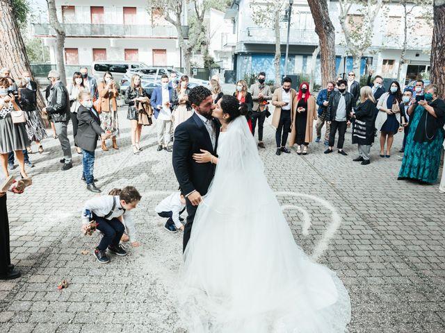 Il matrimonio di Emanuele e Maria Sara a Cesenatico, Forlì-Cesena 57