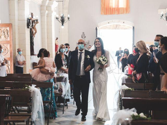 Il matrimonio di Federica e Efisio a Decimomannu, Cagliari 14