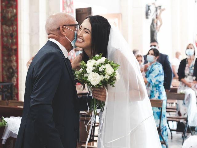 Il matrimonio di Federica e Efisio a Decimomannu, Cagliari 15