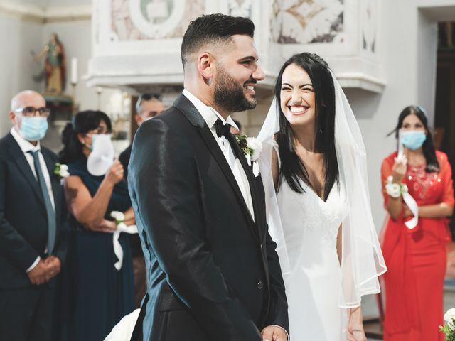 Il matrimonio di Federica e Efisio a Decimomannu, Cagliari 17