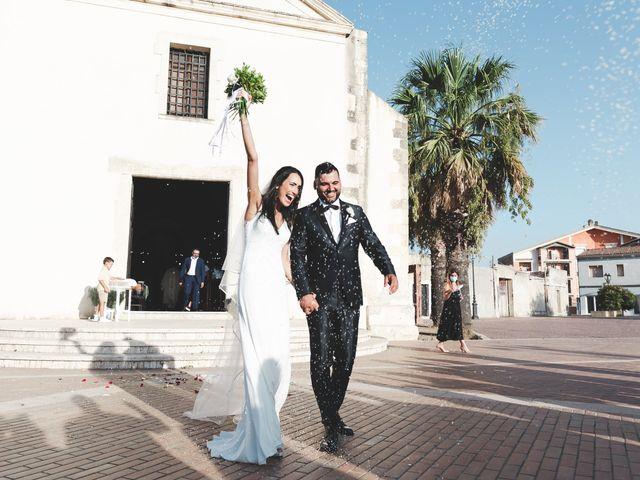 Il matrimonio di Federica e Efisio a Decimomannu, Cagliari 28