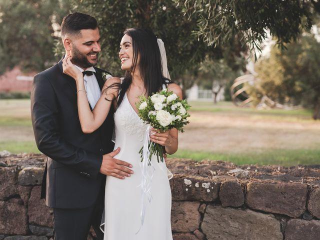 Il matrimonio di Federica e Efisio a Decimomannu, Cagliari 32