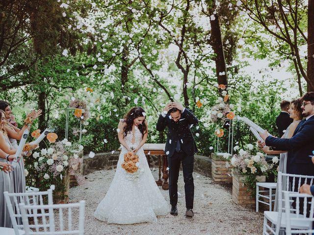 Il matrimonio di Stefano e Michela a Cingoli, Macerata 24