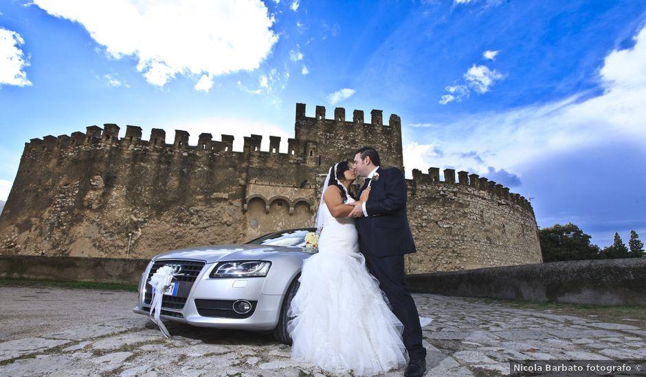 Il matrimonio di Peppe e Angela a Villaricca, Napoli