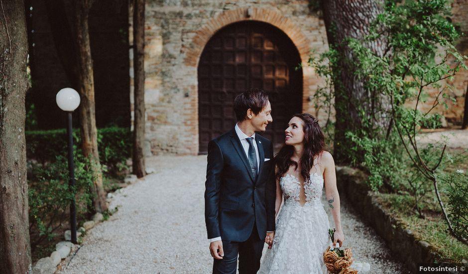 Il matrimonio di Stefano e Michela a Cingoli, Macerata