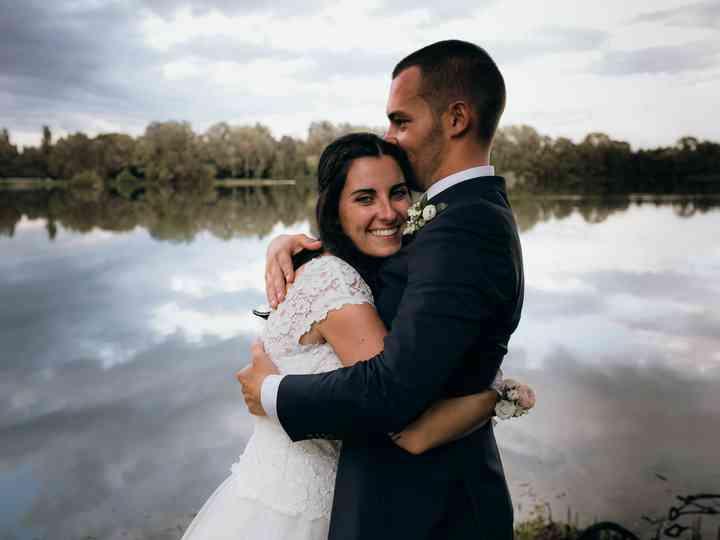 le nozze di Luana e Simone