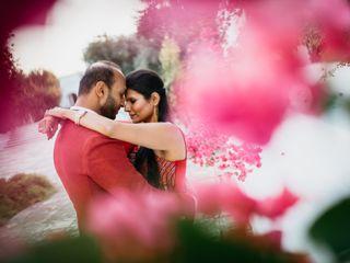 Le nozze di Shefali e Druwil
