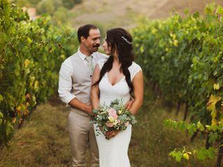 Le nozze di Sara e Mikael