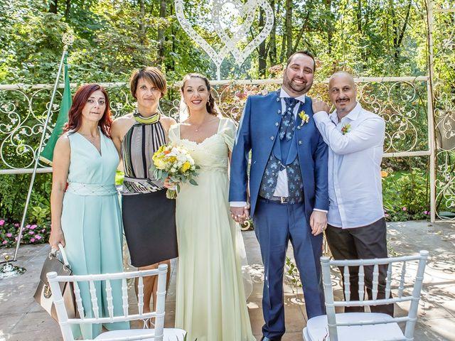 Il matrimonio di Dario e Jennifer a Mazzano, Brescia 129