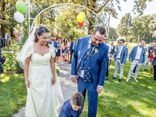 Il matrimonio di Dario e Jennifer a Mazzano, Brescia 137