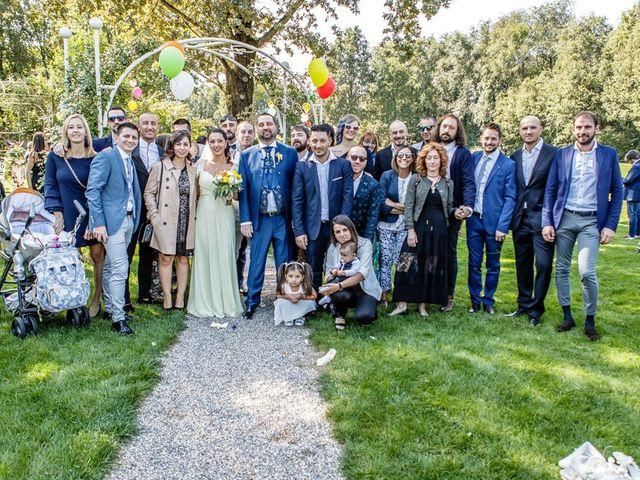 Il matrimonio di Dario e Jennifer a Mazzano, Brescia 139