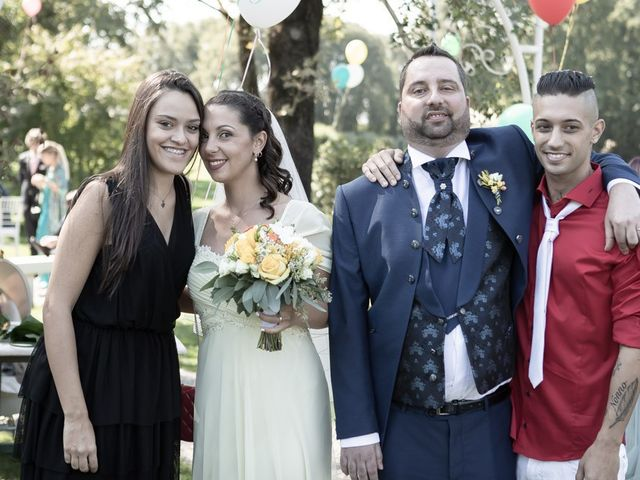 Il matrimonio di Dario e Jennifer a Mazzano, Brescia 141