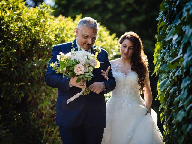 Il matrimonio di Nicola e Ludovica a Bodio Lomnago, Varese 30