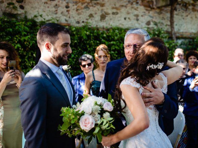 Il matrimonio di Nicola e Ludovica a Bodio Lomnago, Varese 32