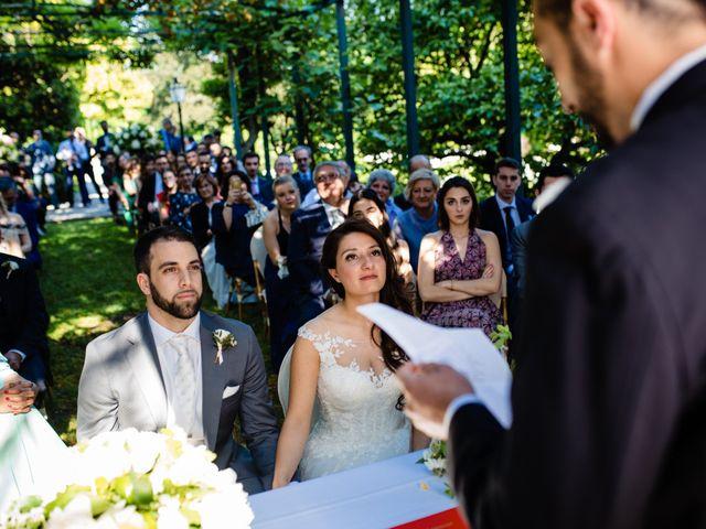 Il matrimonio di Nicola e Ludovica a Bodio Lomnago, Varese 33